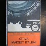RODOLFO MARZANO * GIORGIO CAPUANO - Citiva Maigret italieni - Carte de aventura