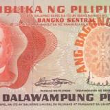Bancnota Filipine 20 Piso (1970) - P155 UNC