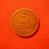 Monede Romania - 5 Bani 1952, bronz, cal.Buna