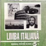 Manual LIMBA ITALIANA CLS a V a ED. LOGOS de A.I. TANASE - Manual Clasa a V-a, Clasa 5
