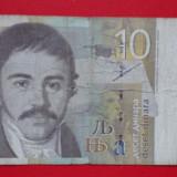 Bancnota Straine, Europa - 10 dinari Iugoslavia