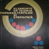 Carte de aventura - Elemente de Teoria Probabilitatilor si Statistica - G.Mihoc