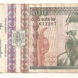LL bancnota Romania 500 lei Dec. 1992