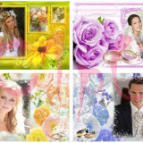 Software Editare video - Album 500 PSD si PNG ( Nunti/ Weddings Template )