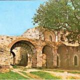 CP208-95 Cetatea de Scaun a Sucevei -Portile de straja -carte postala necirculata -starea care se vede
