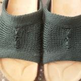 Papuci dama, Marime: 36, Khaki - Papuci tricotati