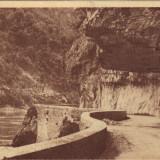 Ilustrata Dunarea la Cazane