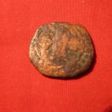 Moneda Bizantina bronz, 2, 4x2 cm - Moneda Antica