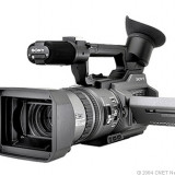 Camera video Sony VX 2100, Mini DV, sub 3 Mpx, CCD