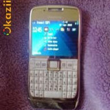 Telefon mobil - Vand Nokia E71 Replica Alb Made in finland