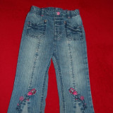 Pantaloni blugi pt 1, 5-2 ani marime 92 Dopodopo
