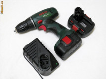 Bormasina Bosch PSR 14,4V cu doi acumulatori foto