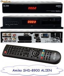 Receptor satelit HD linux, mediaplayer, browser Opera,  Amiko Alien 8900 foto