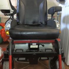 Carucior electric pt persoane cu dizabilitati