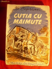 Biografie - G.CIPRIAN - CUTIA CU MAIMUTE - 1942