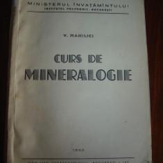 1758 Curs de mineralogie V, Manilici 1955 - Curs hobby
