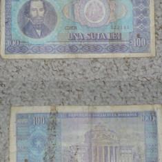 ROMANIA - BANCNOTA 100 LEI 1966