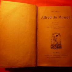 Carti Literatura straina - ALFRED DE MUSSET - POESIES 1833-1852