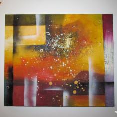 Pictura / Tablou Abstract, tema 1 deosebit !!!
