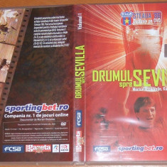 + Dvd Steaua 86 - Drumul spre Sevilla vol.1 + - DVD fotbal