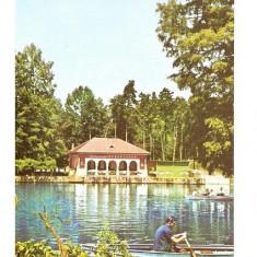 CP190-21 Craiova.Vedere din Parcul poporului (are timbru cu Gheorghe Gheorghiu-Dej) -carte postala circulata 1968