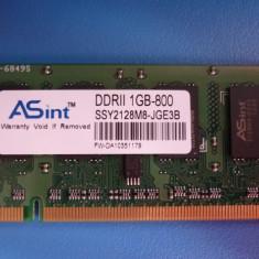 DDR 2 la 800Mhz marca ASint pentru Laptop - Memorie RAM laptop Asus