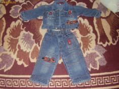 Haine Copii 6 - 12 luni - Costum de blugi