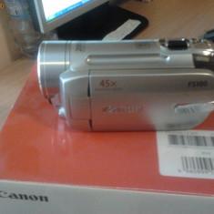 Camera video Canon Fs 100, Card Memorie
