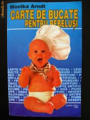 Carte Retete pentru bebelusi - Carte de bucate pentru bebelusi - Monika Arndt