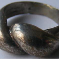 Inel vechi din argint (63) - de colectie