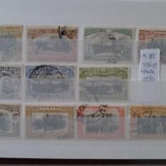 Timbre Romania, Stampilat - Romania timbre carol I 40 ani de domnie serie stampilata + eroare