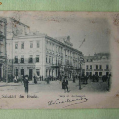 BRAILA - Piata sf. Archangheli - 1900