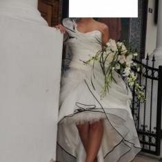 Rochie mireasa Nanette - Rochie scurta de mireasa