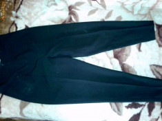 Pantaloni dama - Pantaloni eleganti pana cu talie inalta