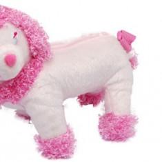 Gentuta Copii - Gentuta in forma unui catelus, de culoare roz, frumoasa, moda copii, geanta