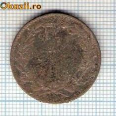 Monede Romania - 10 Moneda 5 Bani 1867 WATT & Co ? -starea care se vede -ceva mai buna decat scanarea