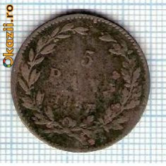 Monede Romania - 15 Moneda 5 Bani 1867 HEATON ? -starea care se vede -ceva mai buna decat scanarea