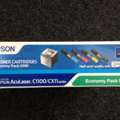 Cartus Toner Epson AcuLaser C1100/CX11 pack 4 buc
