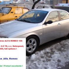Dezmembrez ALFA ROMEO 156, motorizare 2.0 TS - 155 CP - an fabricatie 1999 - Selespeed - Dezmembrari Alfa Romeo