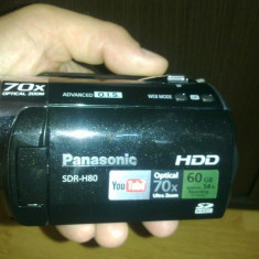 PANASONIC SDR-H80 60G - Camera Video Panasonic, Hard Disk, 9-9.90 Mpx, Altul, 3 - 4
