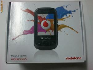 Telefon Vodafone 445 White ,TOUCHSCREEN,  NOU , SIGILAT  IN CUTIE  !!!!!!!!!!!!!!!!!! foto