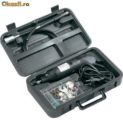 Mini-aparat de gaurit cu 80 accesorii foto