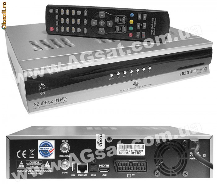 Receptor HD  full digi tv ca dreambox 800 hd foto mare