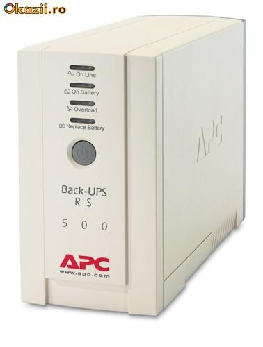 Источник Бесперебойного Питания (ИБП) APC Back-UPS RS 500 у меня уже несколько лет.  Прекрасно справляется со всеми...