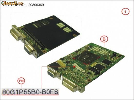 Vand placa video externa laptop Fujitsu Siemens 80G1P55B0-B0FS foto mare