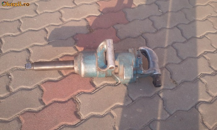 pistol pneumatic  roti camion cheie roti cu impact foto mare