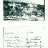 CP107-84 -Sinaia -Casino si Palace Hotel -tipar1927 datata 1939