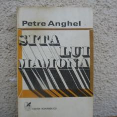 Petre Anghel - Sita lui Mamona - Roman