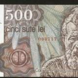 Bnk bn romania 500 lei aprilie 1991 unc