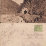 Tunelul Lunci langa statia Riul Vadului (Valcea), Circulata, Printata